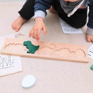 Dinosaur Puzzle Play