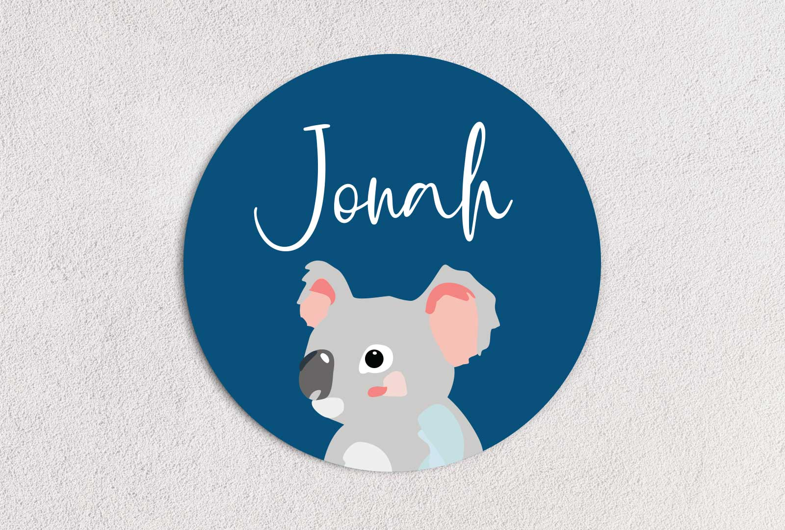 Koala Name Plaque