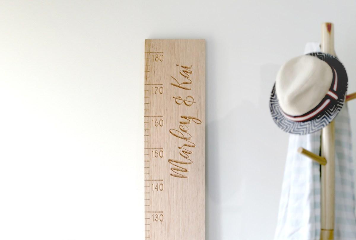 Wooden Height Ruler