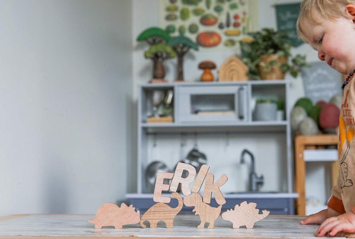 Wooden Dinosaur Puzzle