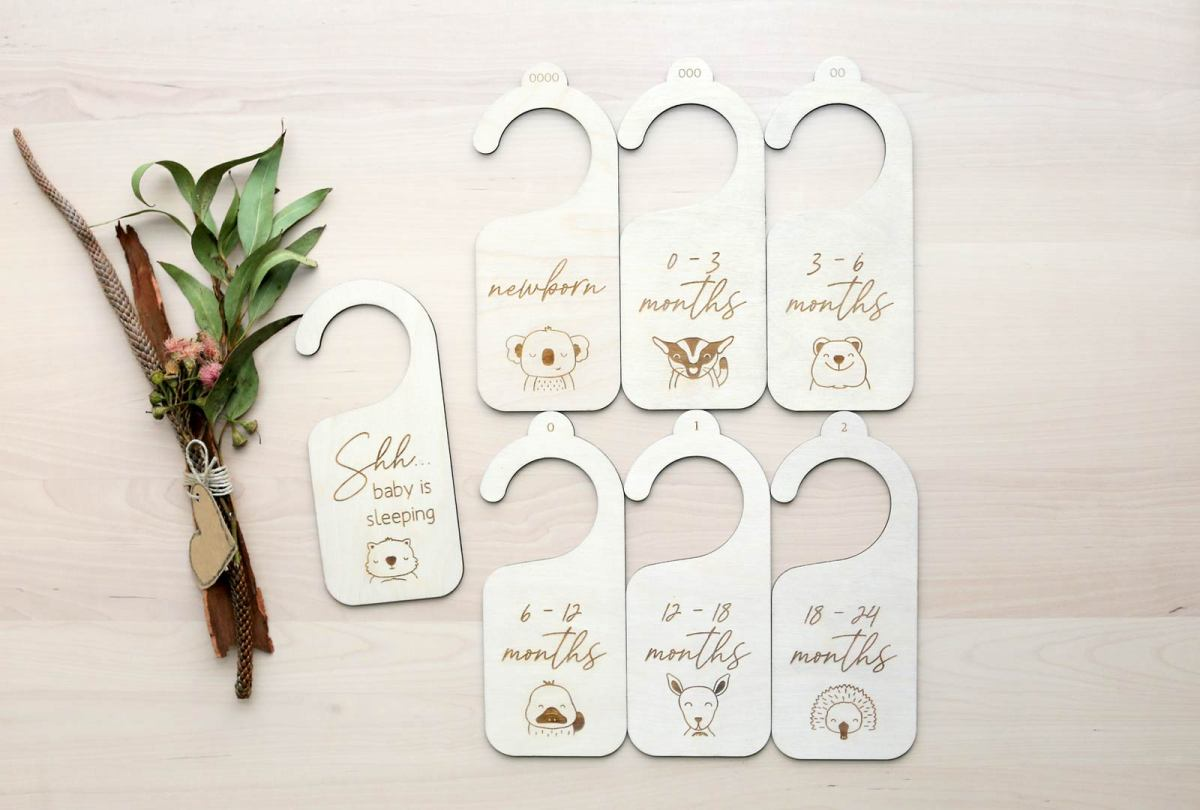 Wooden Baby Clothes Dividers