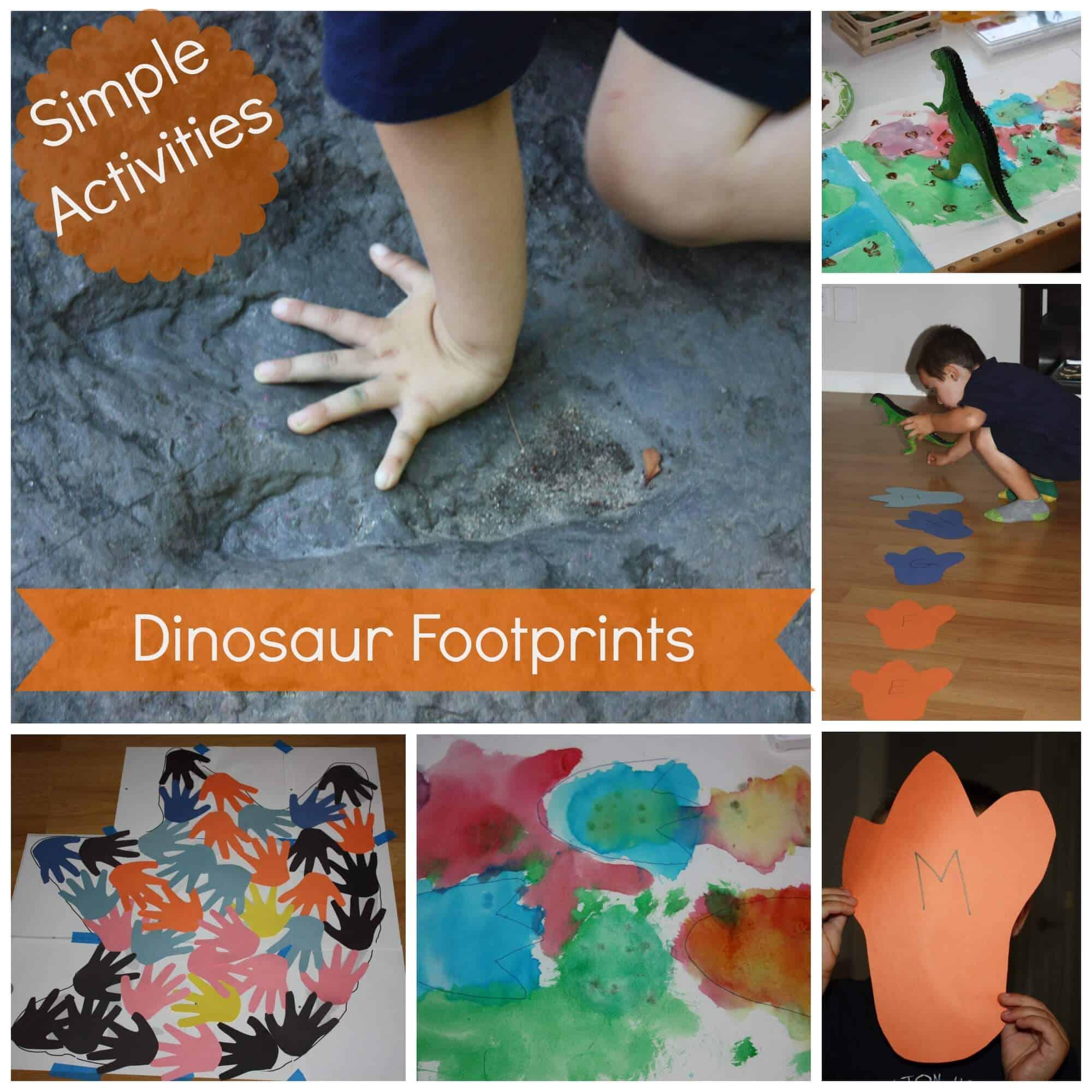 Curriculum Superfriends Preschool Dinosaur Footprint
