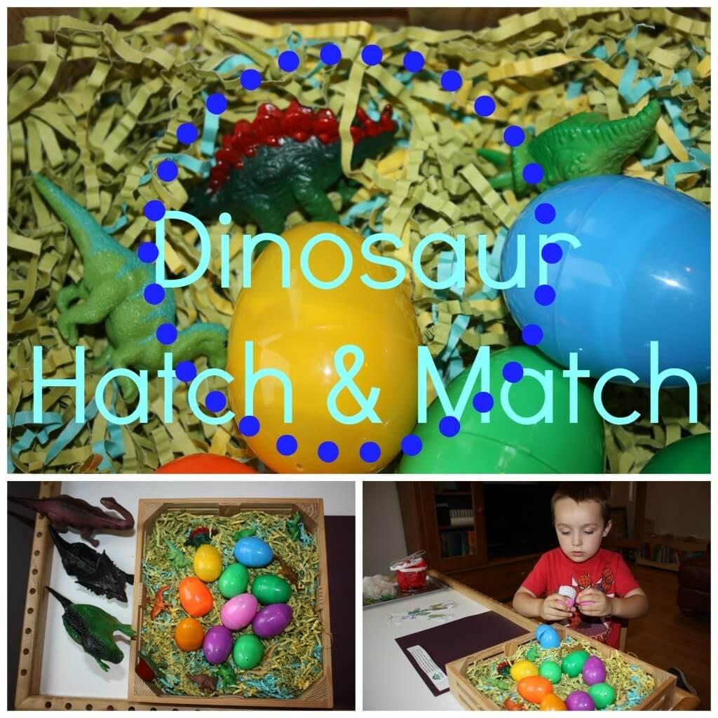 Dinosaur Play Hatch Match Amp More