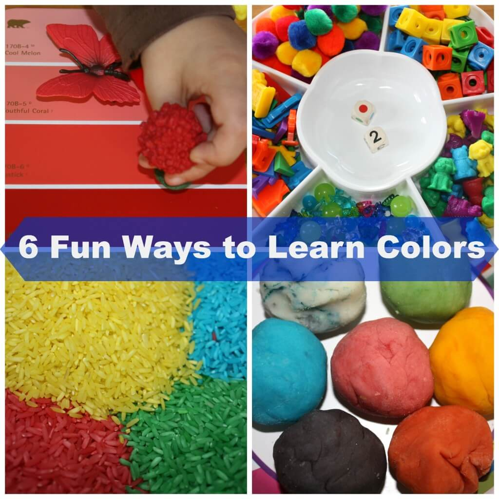 Simple Ways To Learn Colors And Color Mixing