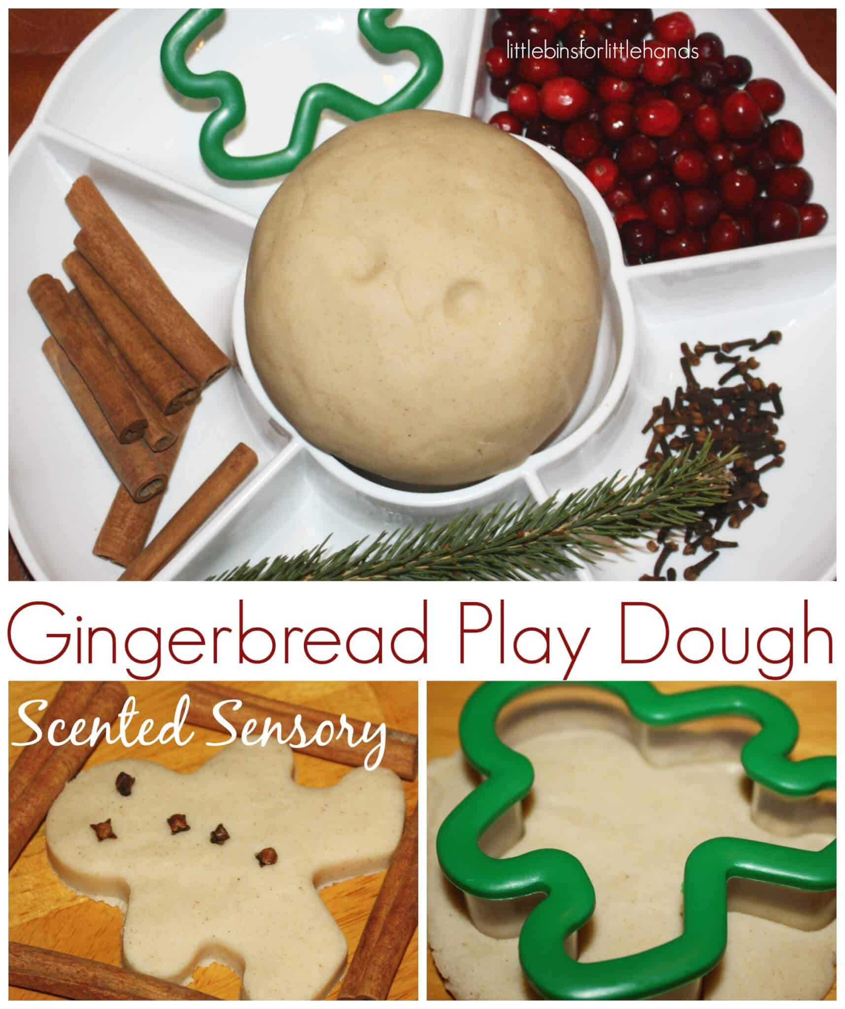 Gingerbread Theme Christmas Sensory Play