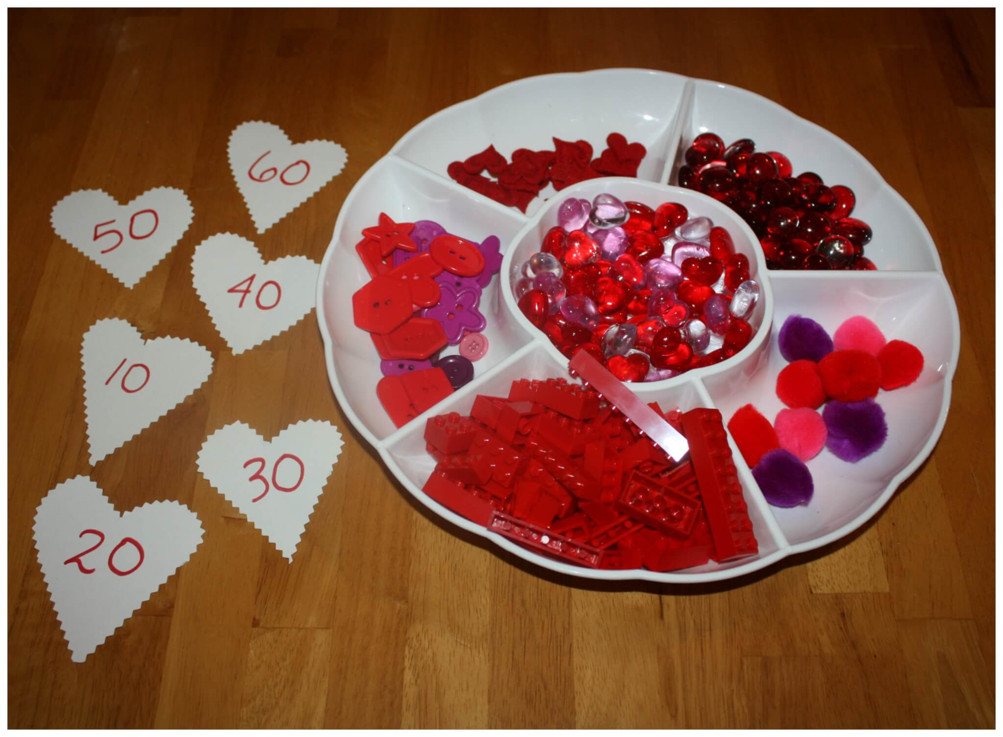 Valentines Early Learning Math Ideas For Kids