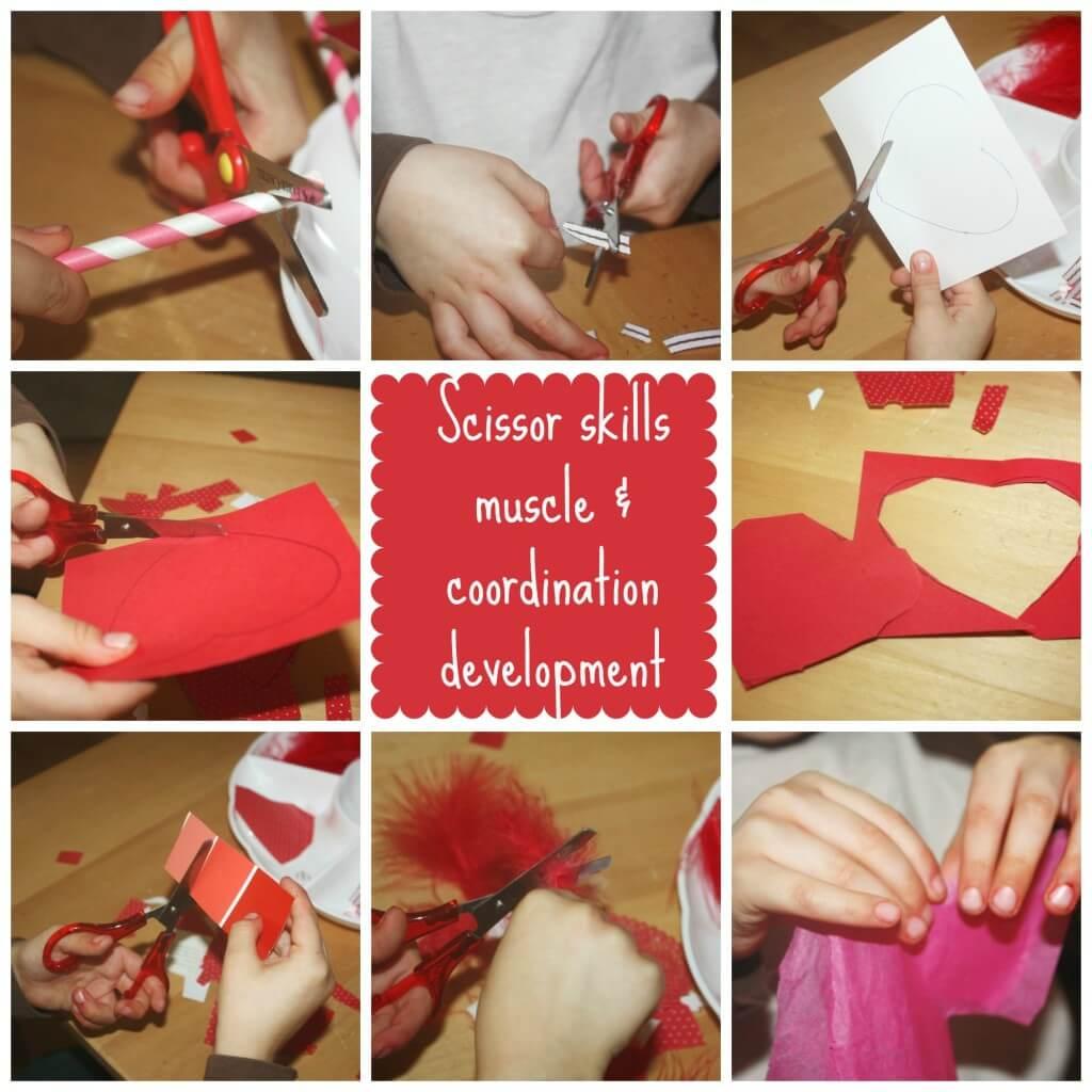 Valentines Scissor Cutting Skills Activity Tray Fine Motor Friday