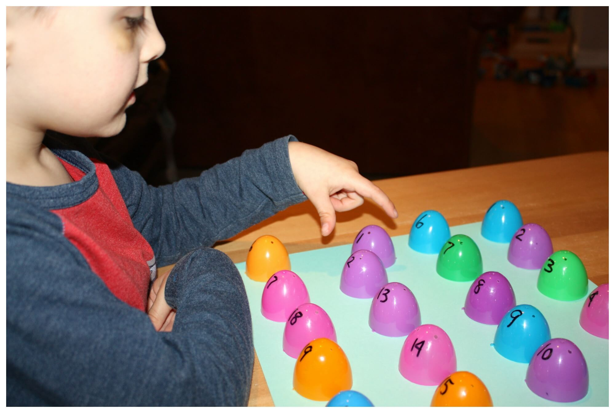 Number Recognition Game Spring Early Learning Math