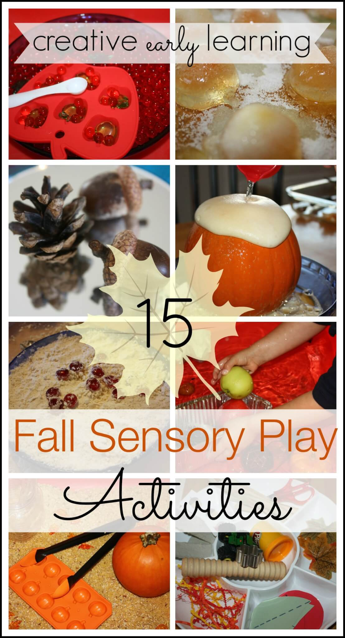 Acorn Fine Motor Fall Sensory Activities Science And Math