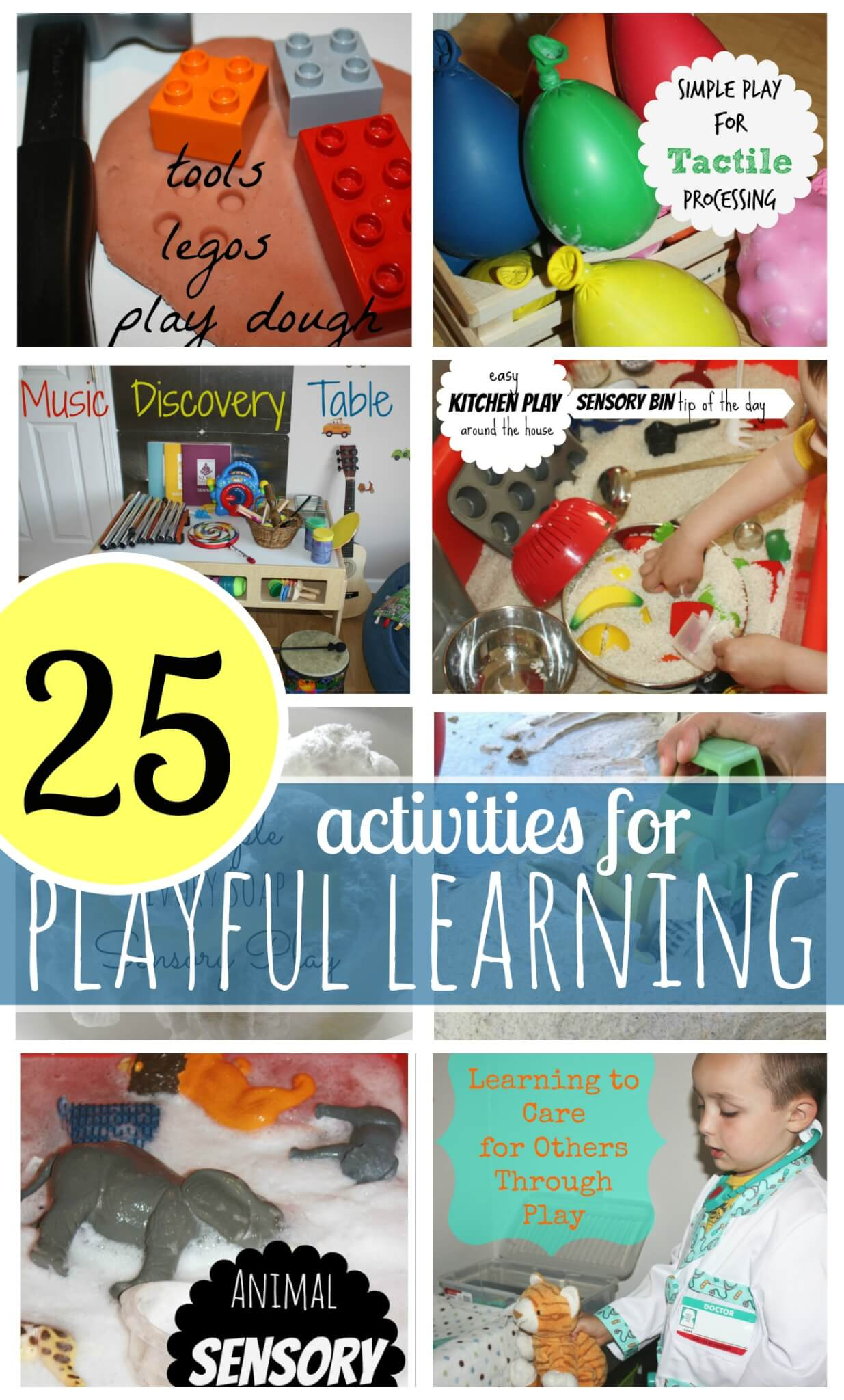 Playful Learning Preschool Activities