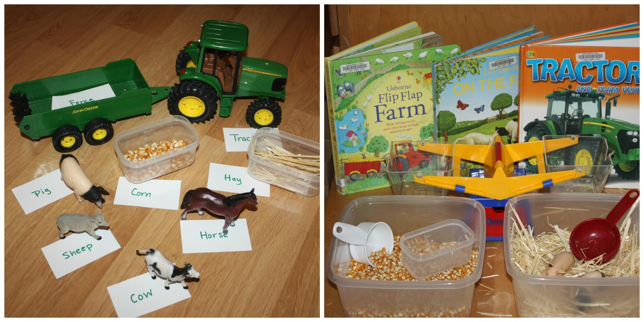 Math Activities For Preschoolers About Farm Animals