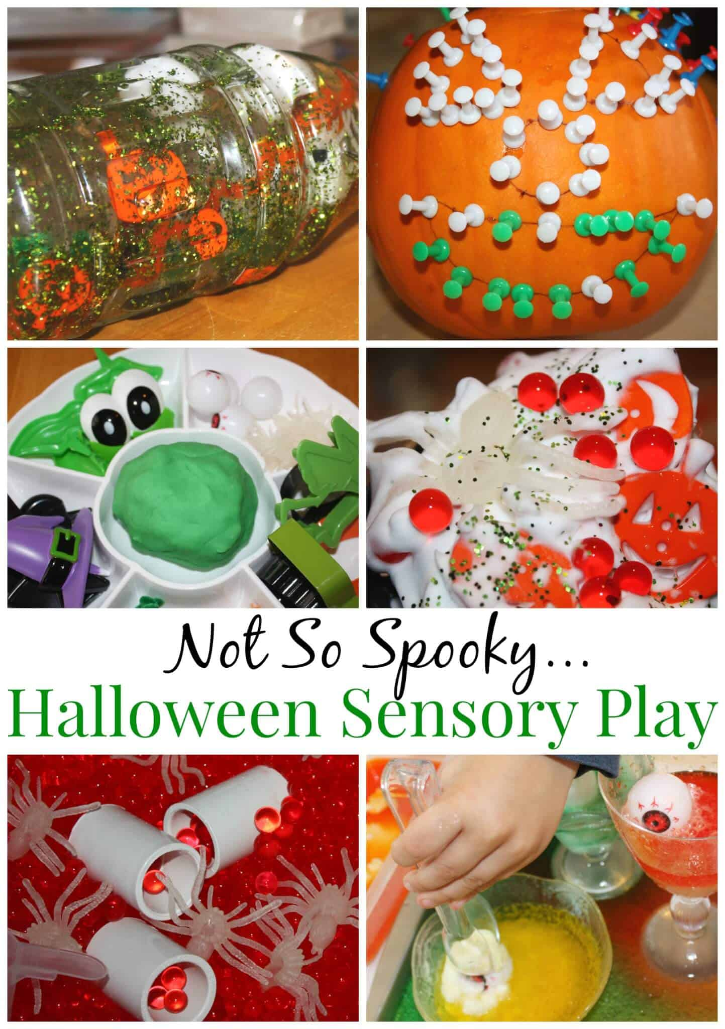 Halloween Sensory Play Activities And Ideas For Young Kids