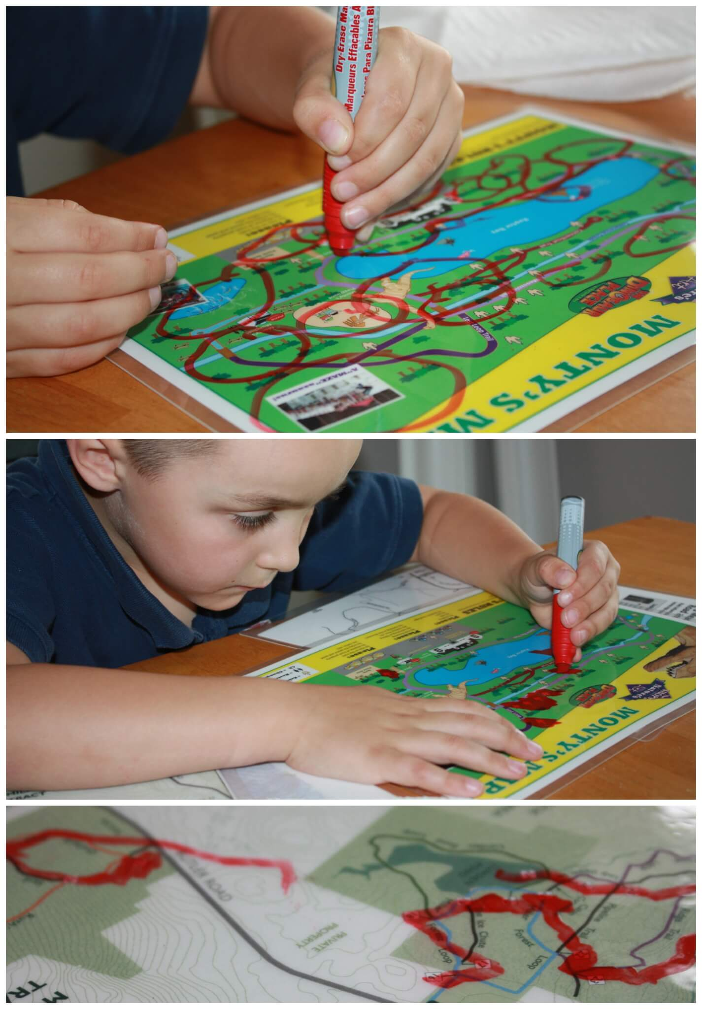 Map Activity Practicing Drawing Lines For Fine Motor