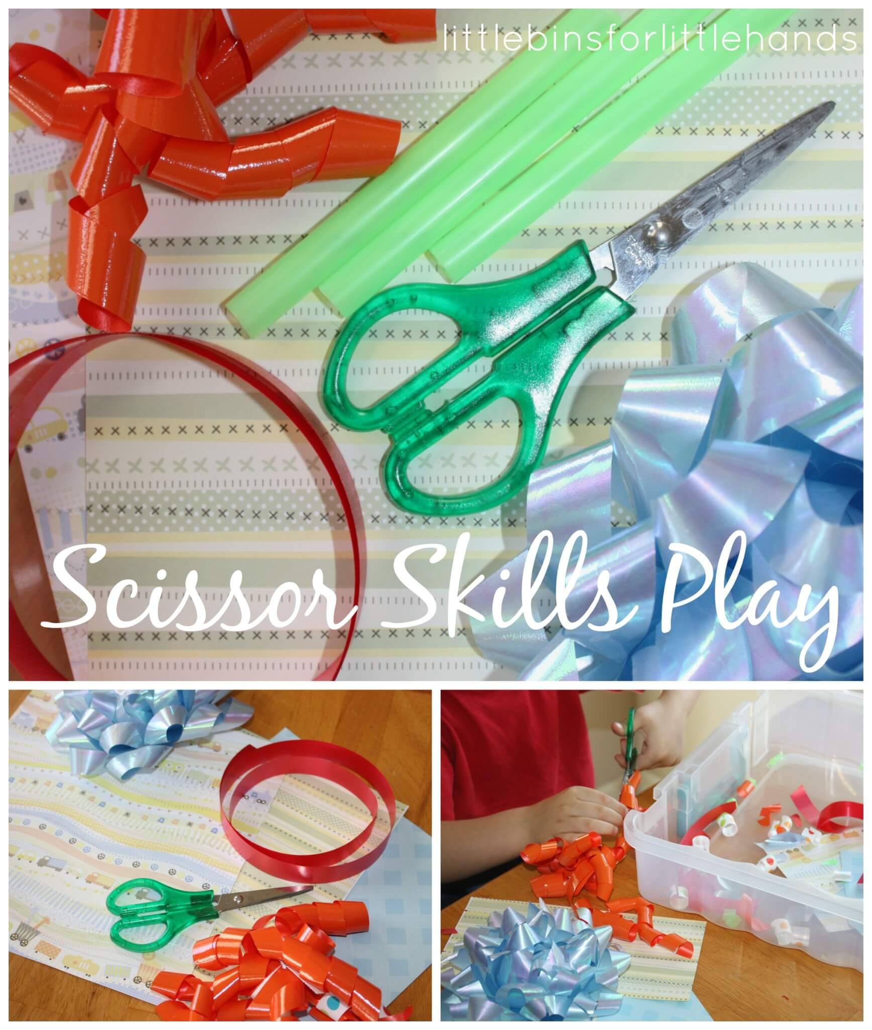 Scissor Activities Cutting Practice For Kids