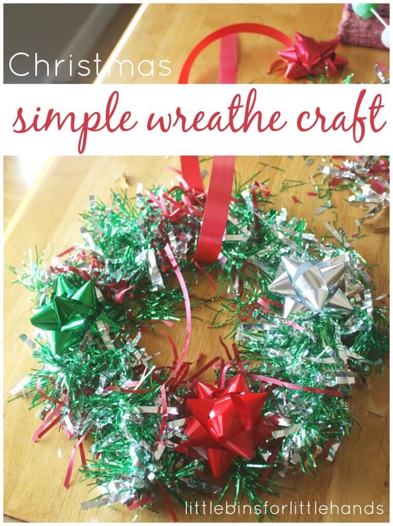 Styrofoam Tree Decorating Christmas Craft Activity For Kids