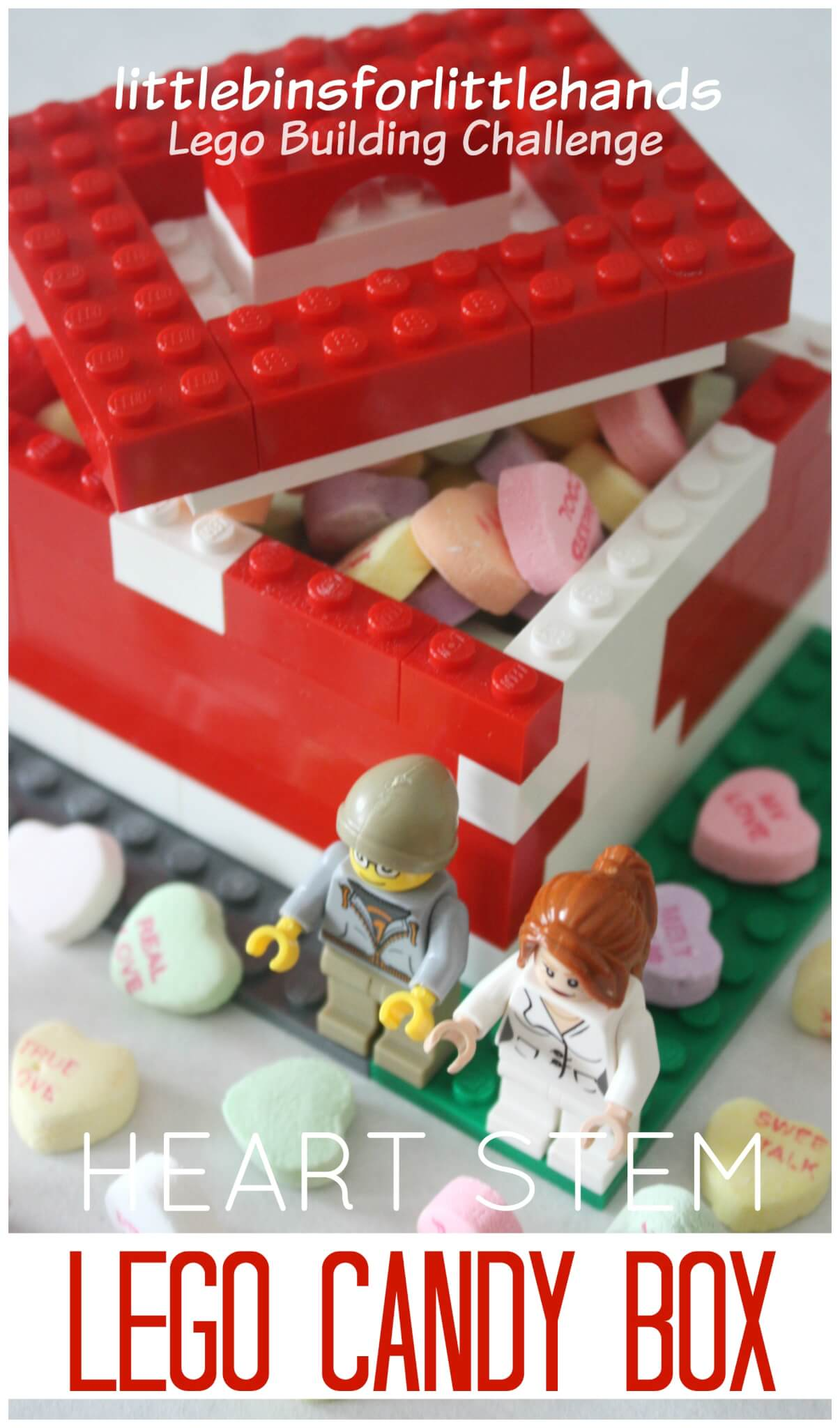 Lego Candy Box Building Challenge For Candy Hearts