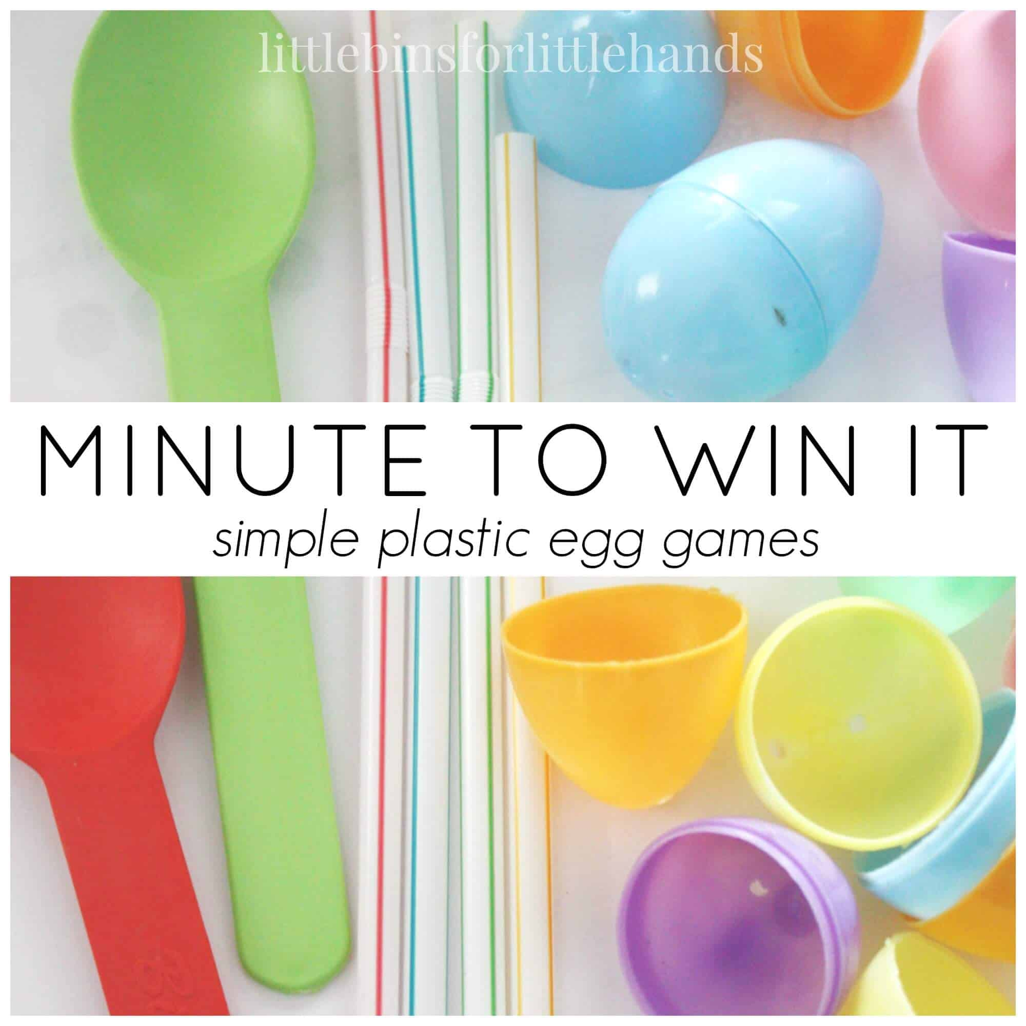 Minute To Win It Easter Games Family Game Time
