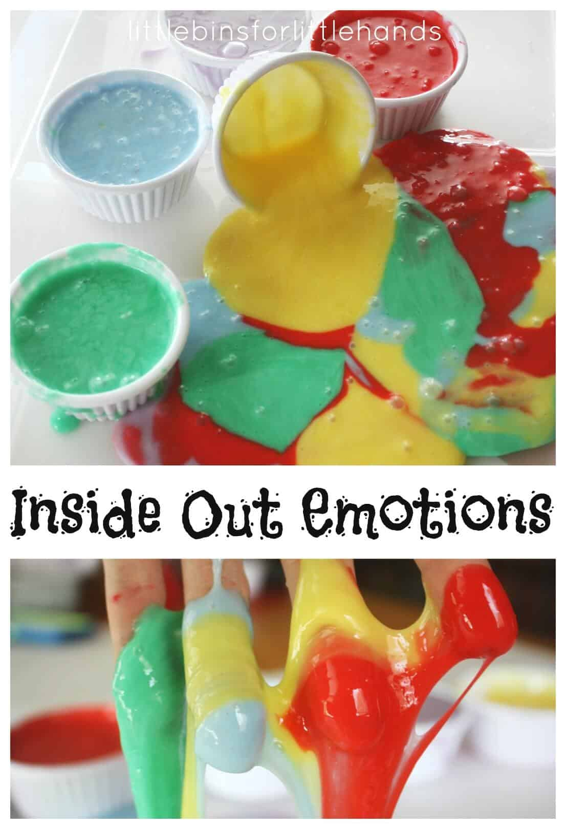Exploring Emotions With Slime Sensory Play Feelings Activity