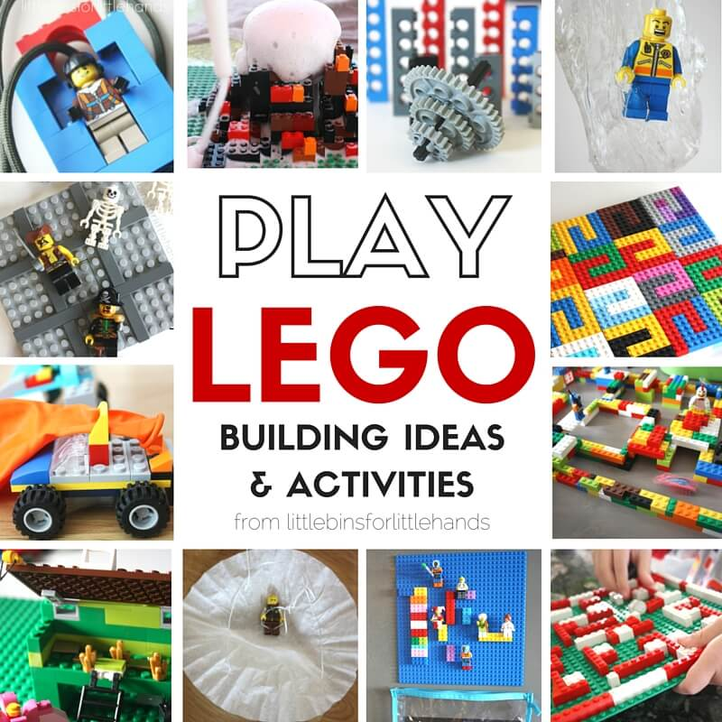 Lego Play Ideas For Lego Week And Lego Building
