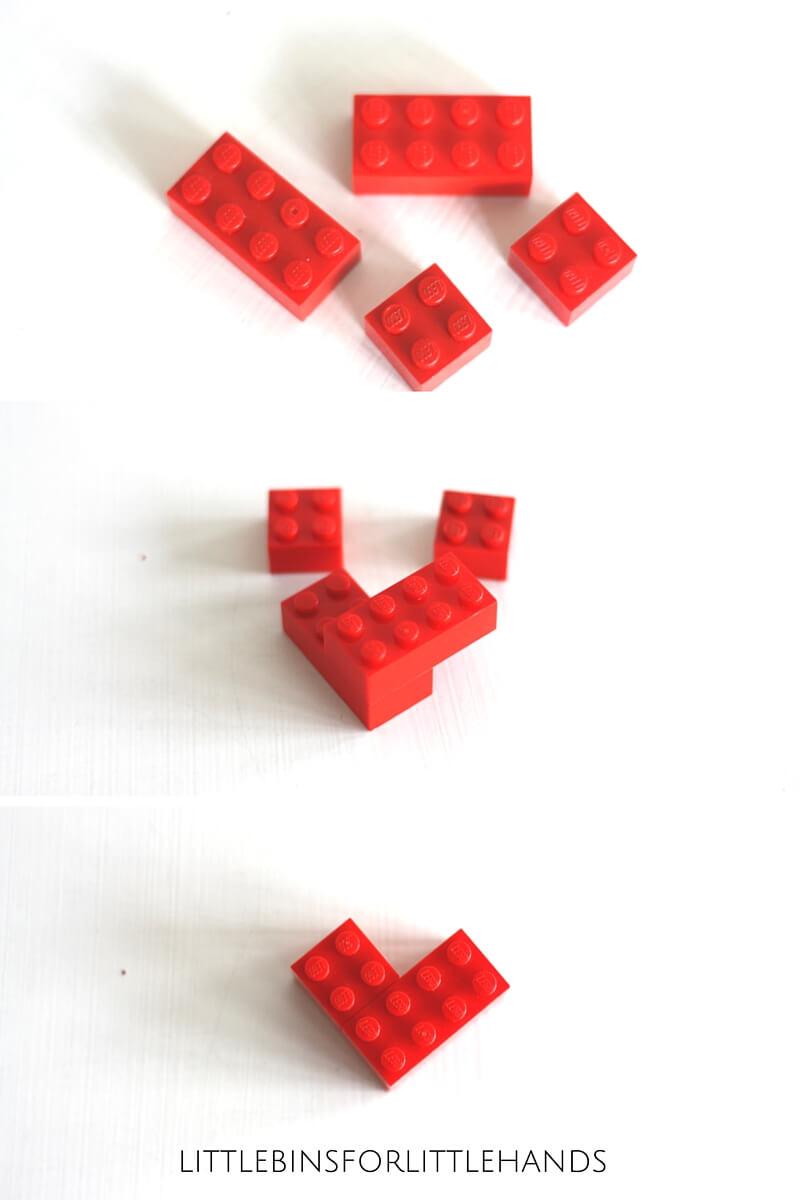 Mini Lego Hearts Valentine S Day Stem Idea For Kids
