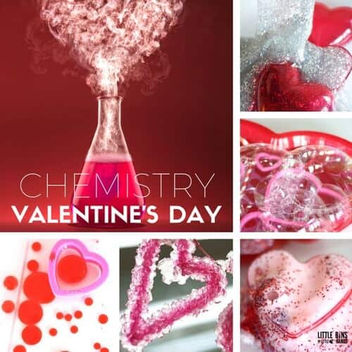 Valentines Day Chemistry Experiments And Science
