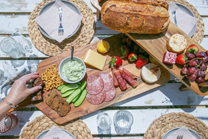 boho picnic hire