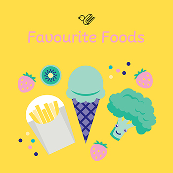 Favourite foods book box