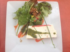 Goats Cheese Terrine for Starter