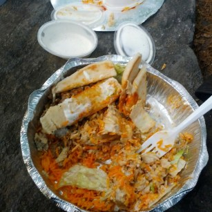 Halal Guys - the hottest hot sauce EVER.