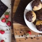 Gluten Free Chocolate Vanilla Muffins