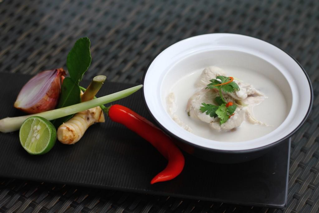 Allergy Free Tom Kha Gai from the Chefs at Intercontinental Ko Samui
