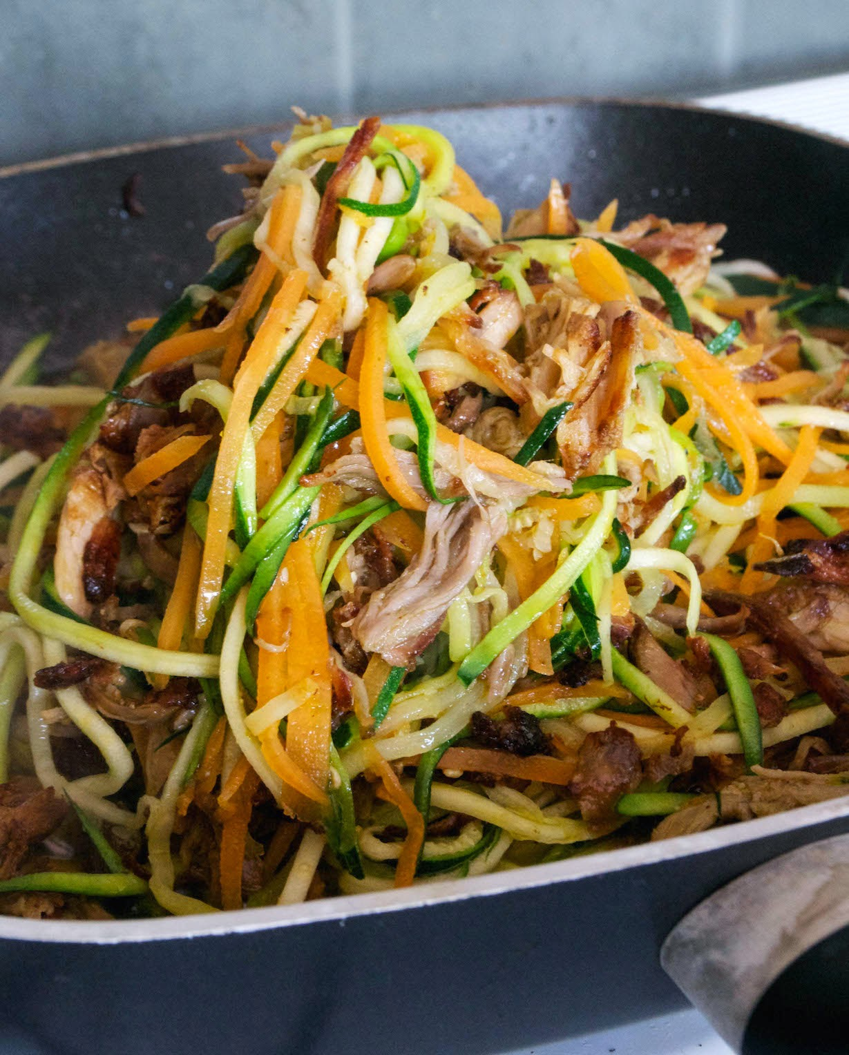 pulled pork zoodles1