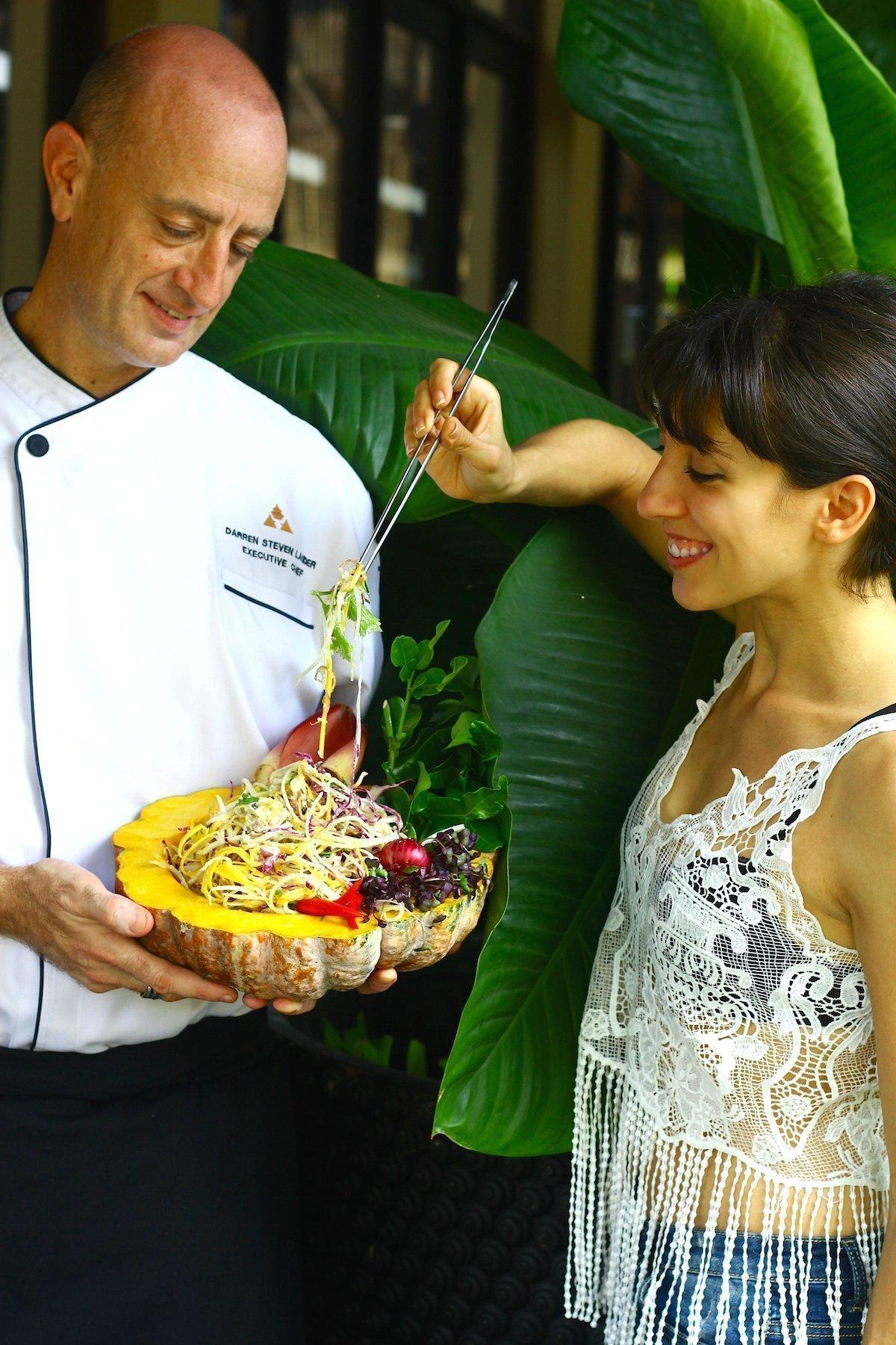 Recipe Development with the with the Executive Chef of Anantara Mai Khao, Phuket