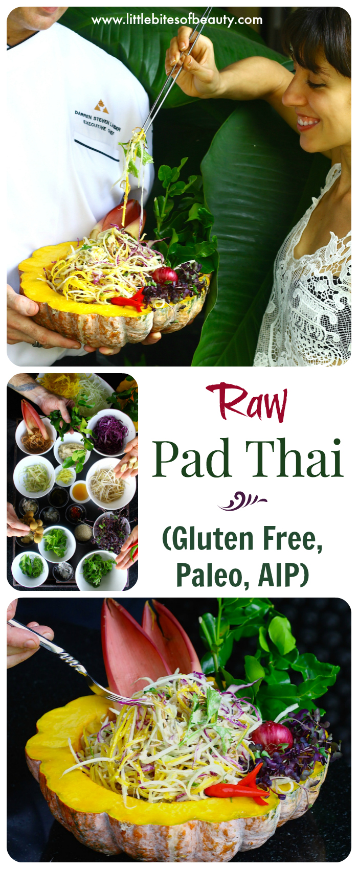 Raw Pad Thai Salad (GF, Paleo & AIP)