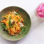 Green Mango Salad from the Chef at Park Hyatt Siem Reap (GF, Paleo, AIP)