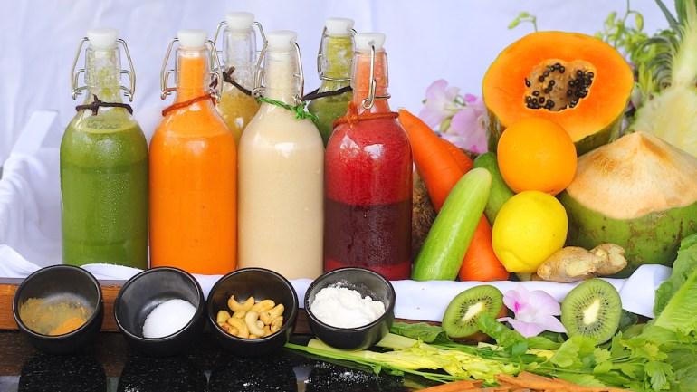 Gourmet Detox Cleansing in Thailand with Anantara Balance