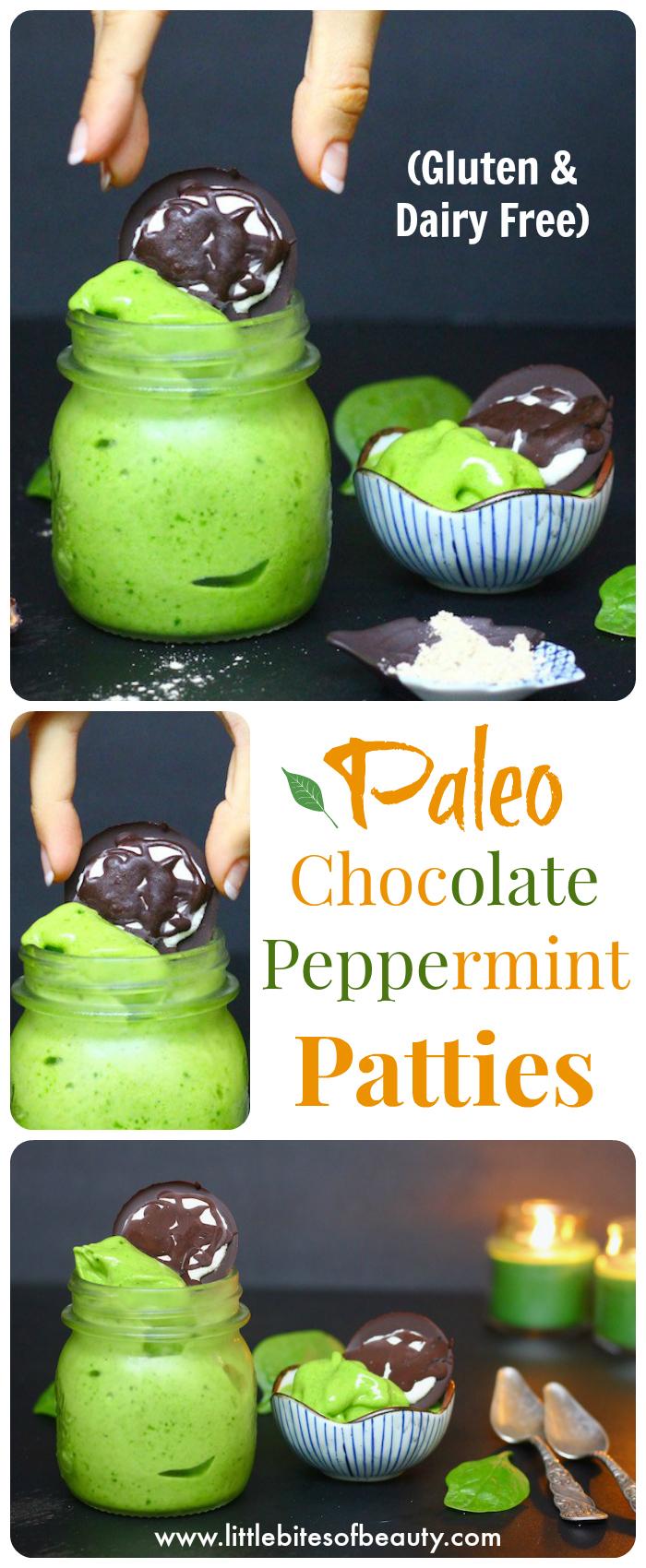 Paleo Chocolate Peppermint Patties