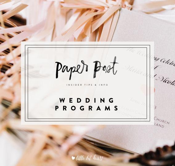 littlebitheart_paperpost_weddingprograms