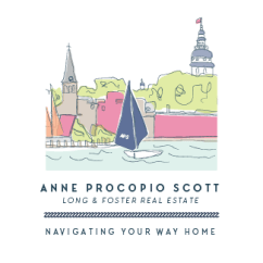 little bit heart | branding design, logo and website design - annapolis maryland realtor - anne procopio scott realty