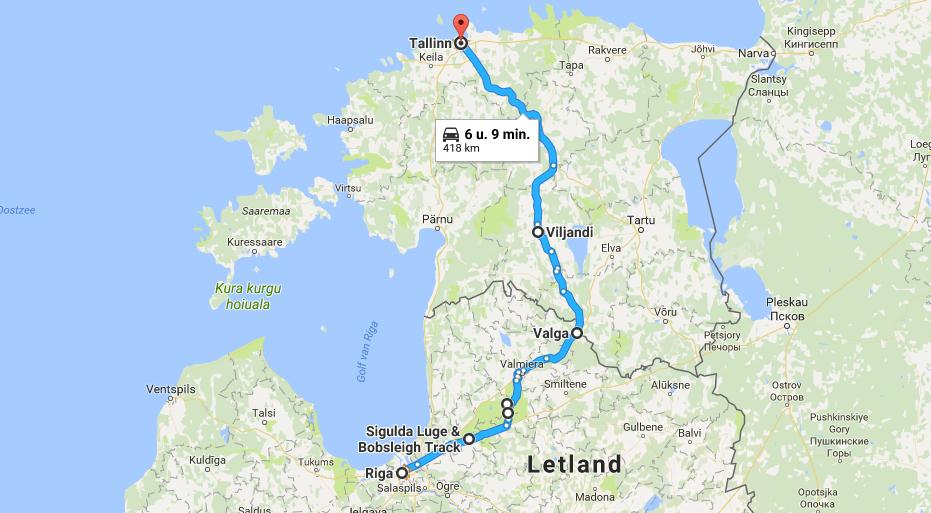 Tour Riga Tallinn