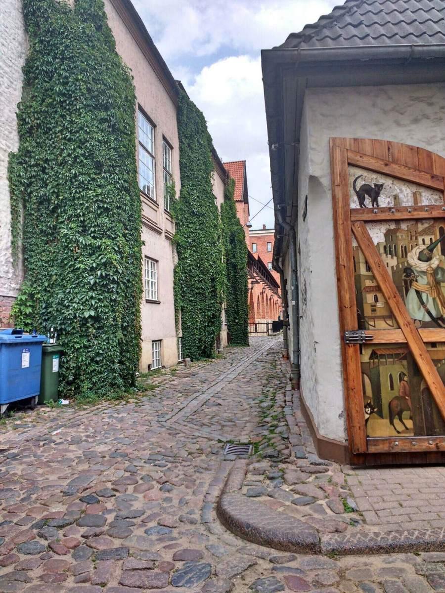 Straatbeeld Riga
