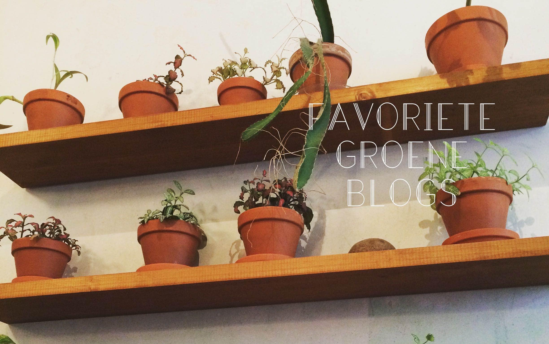 groene blogs