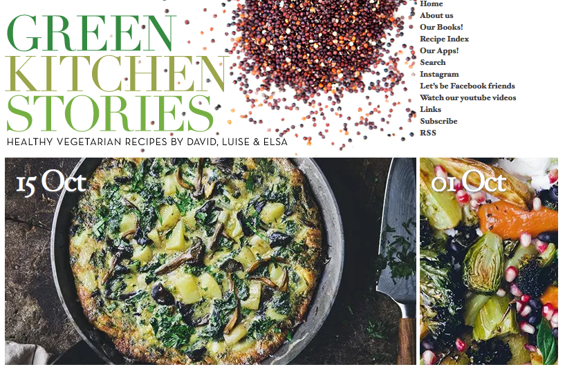 groene blogs green kitchen stories