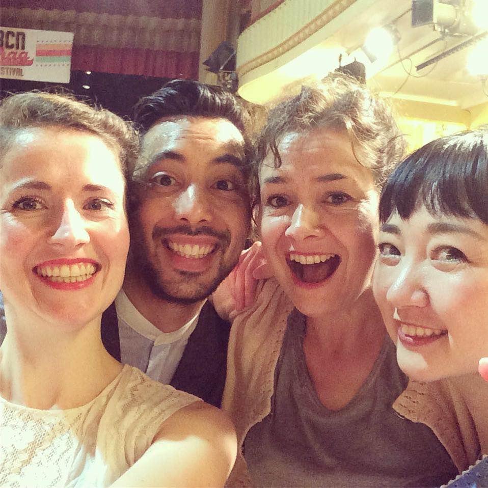 Dansen in Barcelona