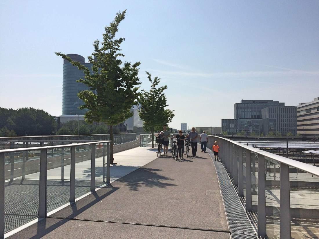 Stadhuis brug moreelsepark
