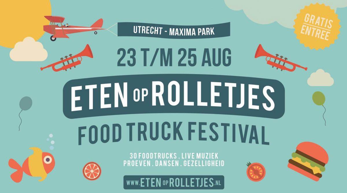 Utrecht in de zomer 2019 - Eten op rolletjes