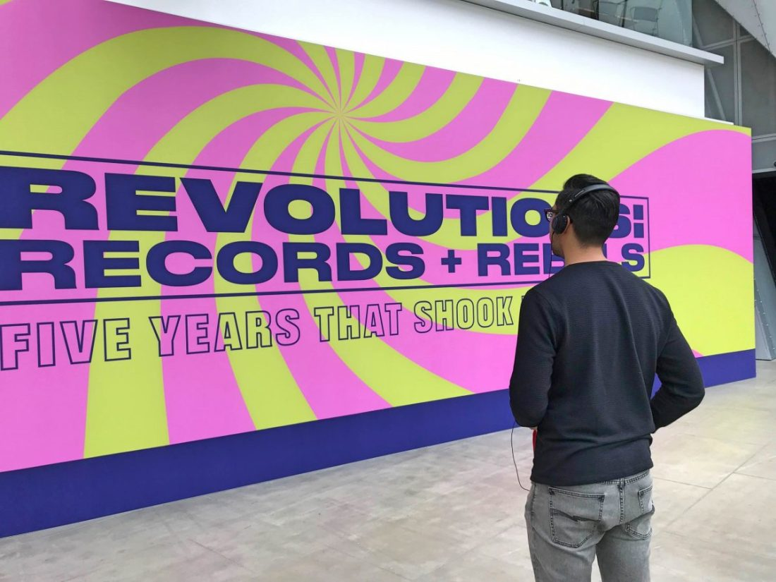 Revolution Records and Rebels Melbourne Museum