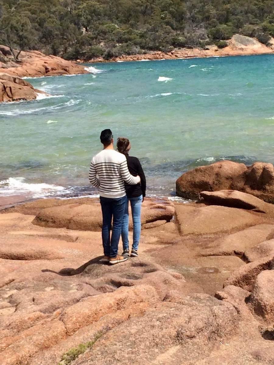 Travelguide Tasmanië - honeymoon bay