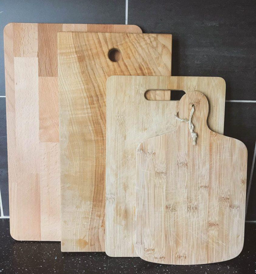 je houten snijplanken onderhouden - mijn snijplanken