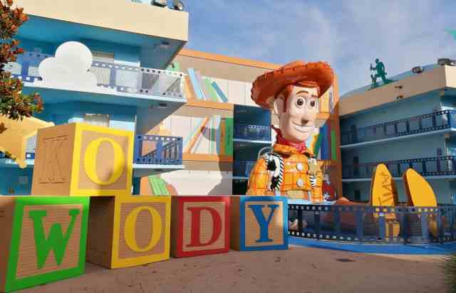 Woody at Disneys All Star Movies Resort